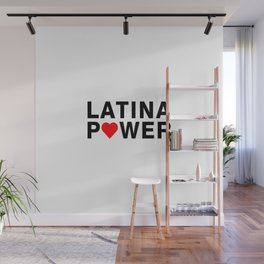 Latina Power Wall Mural
