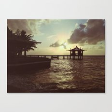 Honduran Sunset Canvas Print