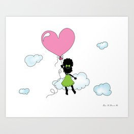 Sister Gets Lifted... Art Print