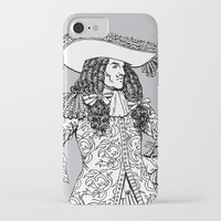 spanish iPhone & iPod Cases featuring Spanish Explorer by Tom Tierney Studios