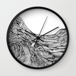 no lighthouse Wall Clock
