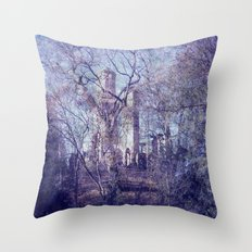 Past 4 Throw Pillow