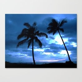Palms of Hawaii Canvas Print