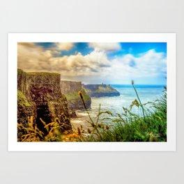 Cliffs of Moher (2) Art Print