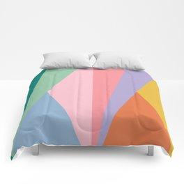 Geometric Triangles - Rainbow Comforters