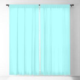 Celeste Cyan Blackout Curtain