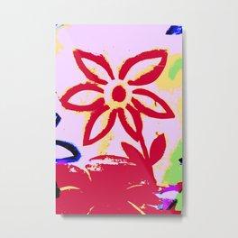 TheFlowerSeries Metal Print