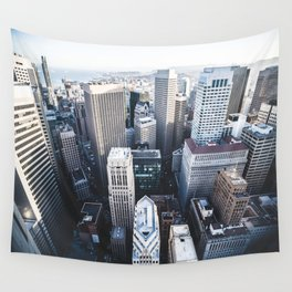 Financial District - San Francisco, CA Wall Tapestry