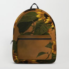 Origin Of Sunflowers  Backpack