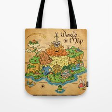 World Map - Mario RPG Tote Bag
