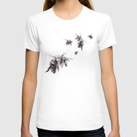 crown T-shirts featuring Crown of Bees by Rachael Shankman
