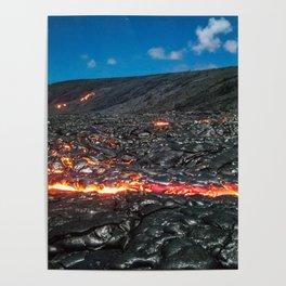 Lava field Poster
