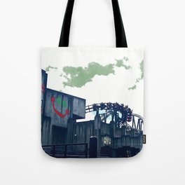 Warner Bros. Movie World #1 (Arkham Assylum) Tote Bag