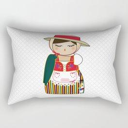 Kokeshi Canaria Rectangular Pillow