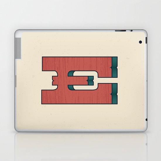 E 001 Laptop & iPad Skin