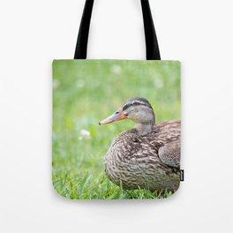 Mrs. Duck Tote Bag