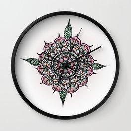 Lucky Mandala Wall Clock