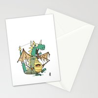 A Kobold in Dragon Clothing Stationery Cards