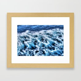 Sea x Framed Art Print