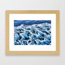 Sea x Framed Art Print