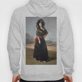 Francisco de Goya - Mourning Portrait of the Duchess of Alba Hoody