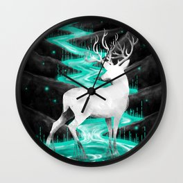 wrath of nature Wall Clock