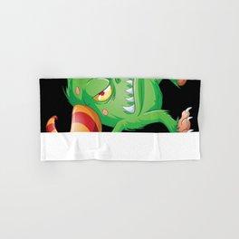 Halloween Monster 3 Hand & Bath Towel