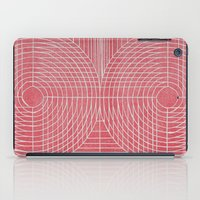 boobs iPad Cases featuring Robotic Boobs Red by Mr Christer Design