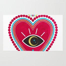 Ex Voto Sacred Heart Rug