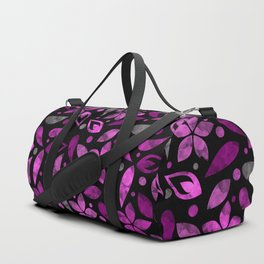 Lovely Floral Pattern ৬ Duffle Bag