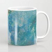 batik Mugs featuring Oceana Batik by GypsyBohemian