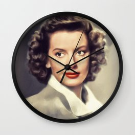 Deborah Kerr, Vintage Actress Wall Clock