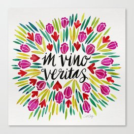 In Vino Veritas Canvas Print