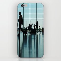 Airport silhouette iPhone & iPod Skin