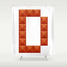 "Letter ""D"" print in beautiful design Fashion Modern Style Shower Curtain"