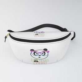Panda Nerd Girl - Rainbow Fanny Pack