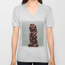 Hanna & her Seven Sons  by Shimon Drory Unisex V-Neck