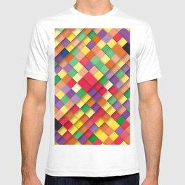 autumn rectangles T-shirt