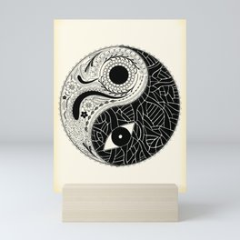 Yin & Yang - [collaborative art with Magdalla del Fresto] Mini Art Print