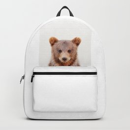 Baby Bear, Baby Animals Art Print By Synplus Backpack