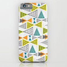 Geometric Mid Century Modern  Triangles iPhone 6s Slim Case