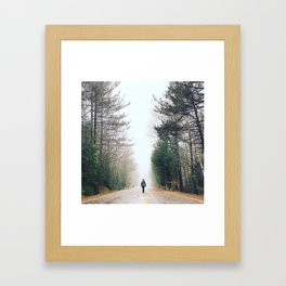 Whiteface Mountain Framed Art Print