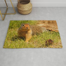 Twitchy Nosed Columbian Ground Squirrel Rug