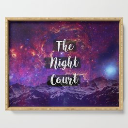 The Night Court Serving Tray