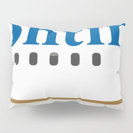 Plane Tees - Continental Airlines Pillow Sham