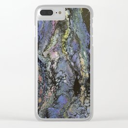 DAY DREAMS Clear iPhone Case