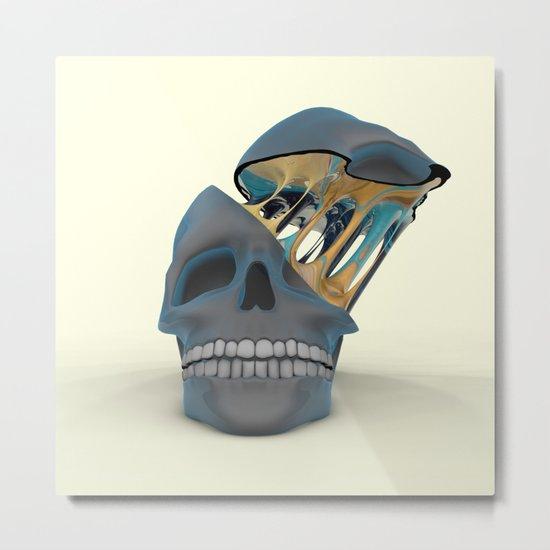 Slimey OOzey Memory Goo Metal Print