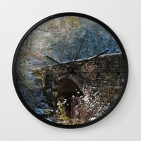 john snow Wall Clocks featuring Early Snow by Captive Images Photography