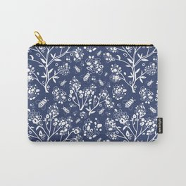 Abstract tree and bees Carry-All Pouch