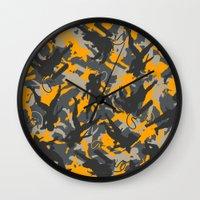 metal gear Wall Clocks featuring Metal Gear Rising Revengeance (V2) by Syafiq Hazmie ASHPLUS